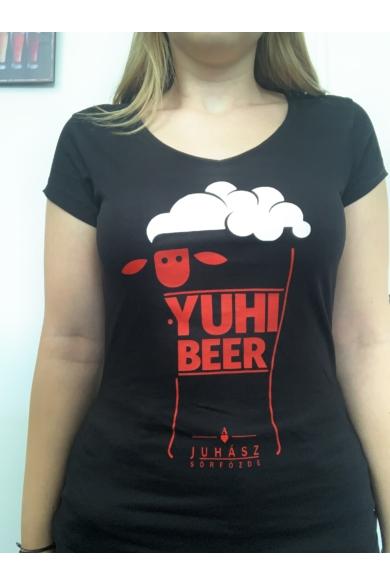 Yuhibeer Női Reklámpóló S-es méret